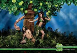 Рекламная кампания Smirnoff Green Apple Twist