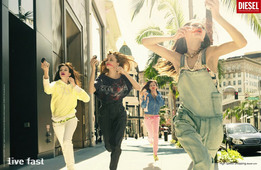 Рекламная кампания весна-лето 2008. Live fast.