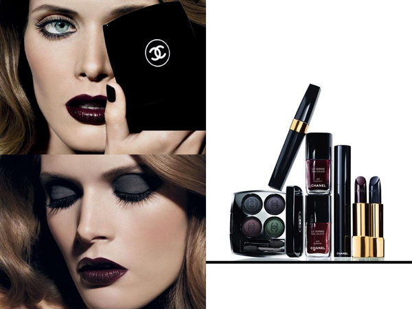 Chanel winter 2009 noirs obscurs collection - лента - multibrand.ru - модные бренды, шопинг, тенденции.