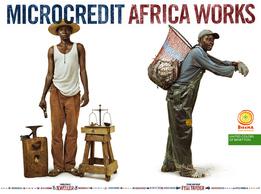 Имиджевая рекламная кампания «Microcredit Africa Works»