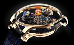 Миниатюрная модель Солнечной системы  — ювелирный шедевр Jacob & Co.