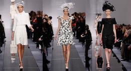 Показ женской коллекции Haute Couture весна-лето 2009