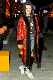 Наташа Туровникова на вечеринке Veuve Clicquot Journey