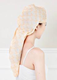 Тканевая маска для волос — «чехол» для суперблеска