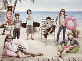Рекламная кампания весна-лето 2009. Дети.