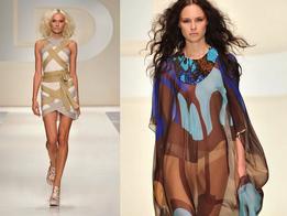 Показ женской коллекции одежды весна-лето 2010