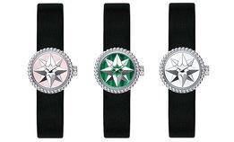 Новые часы Dior c розой ветров на циферблате