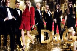 Рекламная кампания D&G осень-зима 2007/08