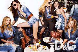 Рекламная кампания D&G весна-лето 2010