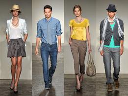 Показ мужской и женской одежды весна-лето 2010