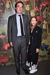 Оливье Саркози и Мэри-Кейт Олсен на аукционе Sotheby's в Нью-Йорке