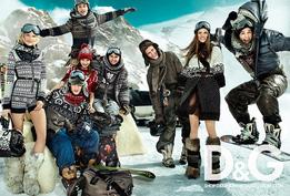 Рекламная кампания D&G осень-зима 2010/2011