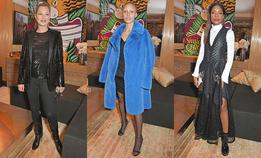 Гости вечеринки британского Vogue и Louis Vuitton