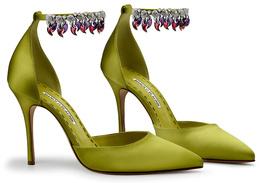Коллекционные туфли Manolo Blahnik x Bvlgari