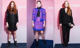 Гости открытия эфемерного бутика Chanel