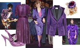 Фиолетовый — цвет Нового года