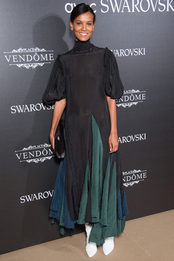 Лия Кебеде на Vogue Fashion Festival в Париже