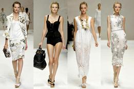 Показ женской коллекции одежды весна-лето 2011