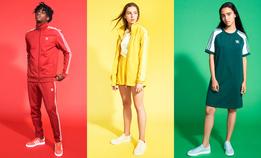 Сочные цветные костюмы adidas adicolor