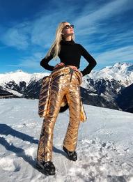 Как носить горнолыжные костюмы