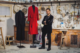 Сын Роберто Кавалли дебютировал со своим брендом на Pitti Uomo