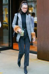 Белла Хадид в Fendi в Нью-Йорке