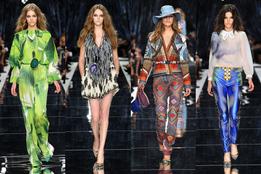 Показ женской коллекции одежды Just Cavalli весна-лето 2011