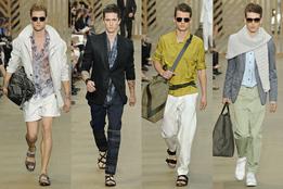 Показ мужской коллекции одежды весна-лето 2011