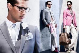 Коллекция мужской одежды и аксессуаров Armani Collezioni весна-лето 2011