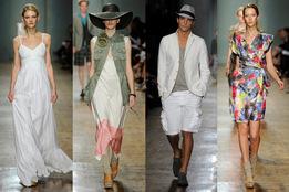 Показ коллекции одежды весна-лето 2011