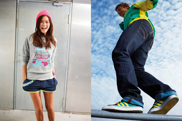 Коллекция adidas Originals Skate Lifestyle (ST) весна-лето 2011