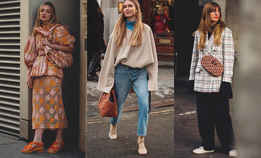 Streetstyle на Неделе моды в Лондоне