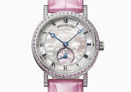 Розовое время: новинка Breguet