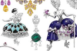 Коллекция ювелирных украшений Van Cleef & Arpels Bals de Legende