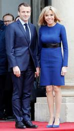 Эммануэль и Брижит Макрон в Елисейском дворце