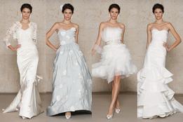 Коллекция свадебных платьев Oscar de la Renta осень 2011