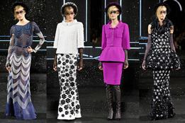Показ женской коллекции Chanel Haute Couture осень-зима 2011/12