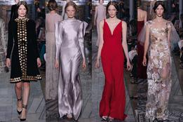 Показ женской коллекции Valentino Haute Couture осень-зима 2011/12