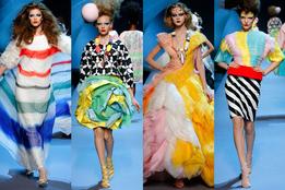 Показ женской коллекции Christian Dior Haute Couture осень-зима 2011/12