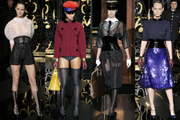 Показ женской коллекции Louis Vuitton осень-зима 2011/12