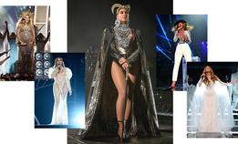 Самые модные сценические костюмы Бейонсе