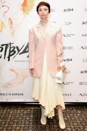 Шорена Джинали в Cline на премьере фильма «Вествуд: панк, икона, активист» в «Ленинград Центре» в Санкт-Петербурге