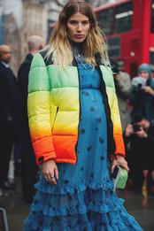 Идеальные платья для межсезонья, как у героинь стритстайла