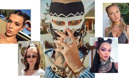 Балаклава, высокие хвосты и море глиттера на фестивале Coachella