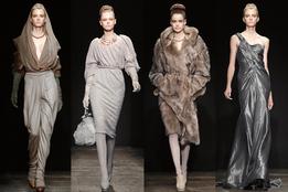 Показ женской коллекции Donna Karan осень-зима 2011/12