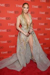 Дженнифер Лопес в Zuhair Murad на Time 100 Gala в Нью-Йорке