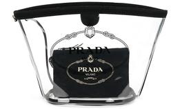 Прозрачные сумки из PVC теперь есть и в ассортименте Prada