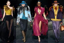 Показ женской коллекции Gucci осень-зима 2011/12