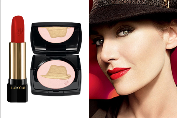 Lancome Golden Hat Holiday Collection 2011