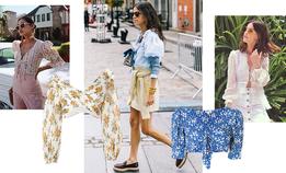 Укороченные пасторальные блузы — лучшая идея на лето